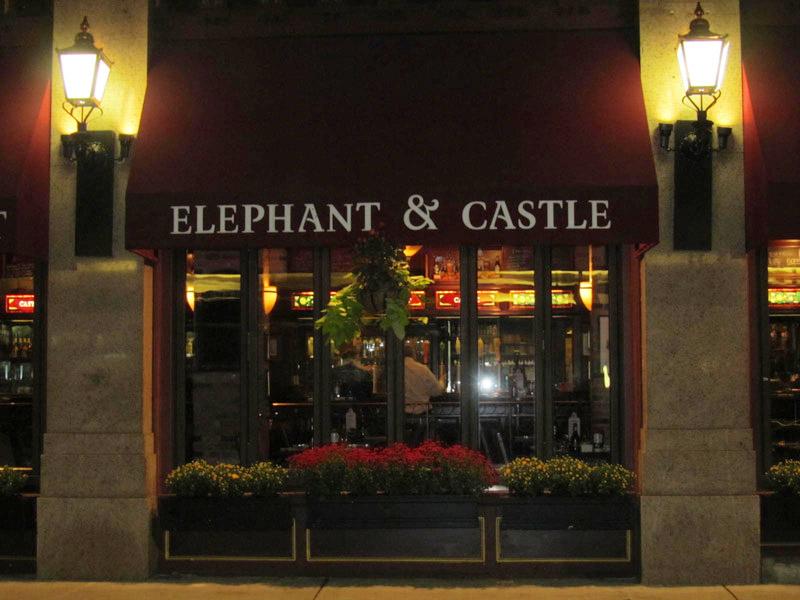 The Elephant Room Menu Boston