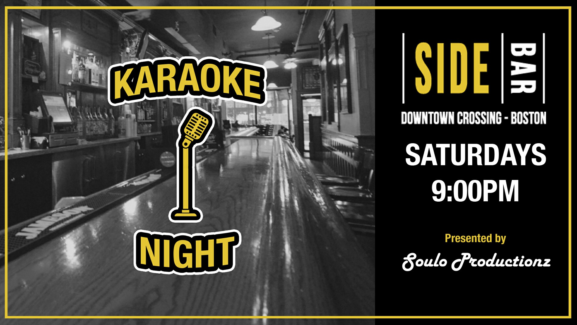 GoingOut com: SideBar Food & Spirits Event, Karaoke Saturdays