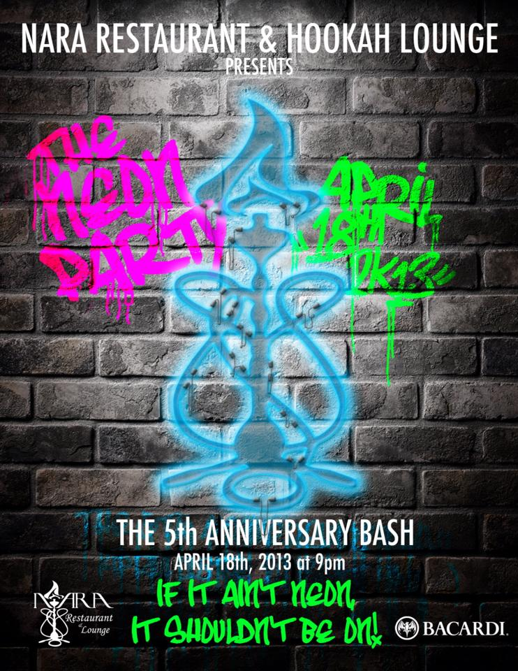 Nara restaurant hookah lounge event 5 year anniversary - The urban treehouse the wonder in the heart of berlin ...
