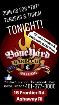 Boneyard Barbecue & Saloon - Ashaway