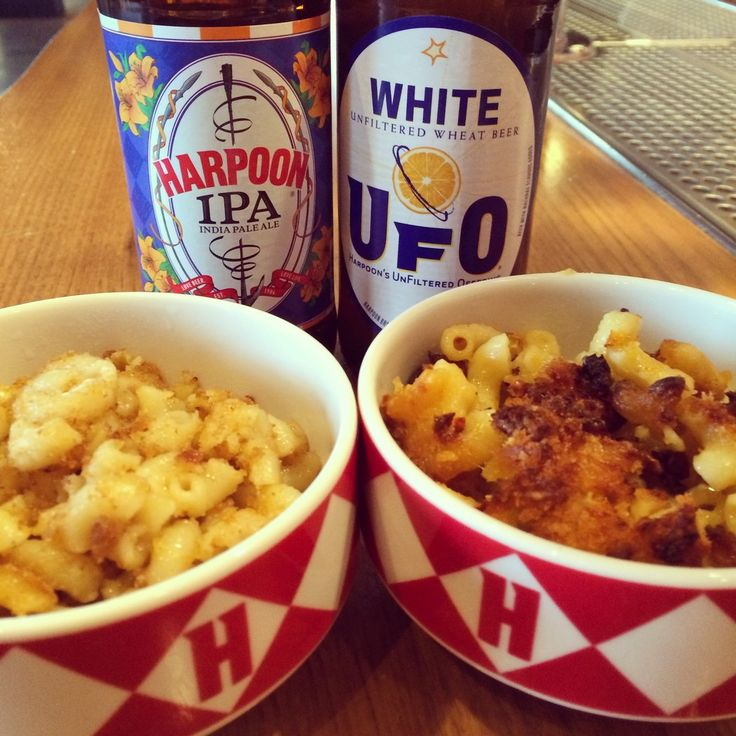 ... : Harpoon Brewery - Boston Seaport Event, Beers & Bites: Mac n Cheese