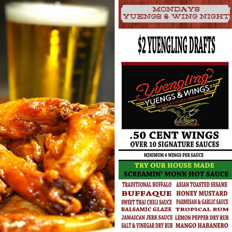 Goingout Com Federal Taphouse Kitchen Event Yuengs And Wings